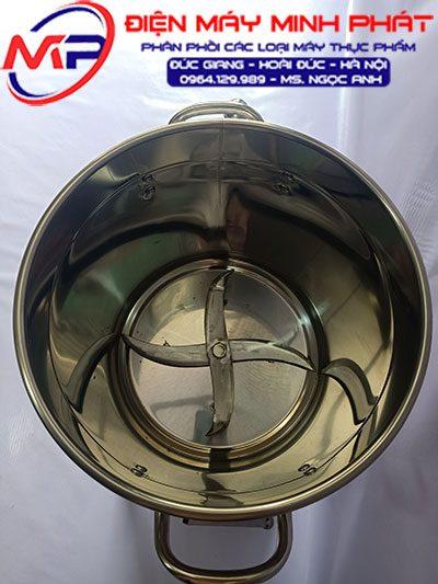 Máy xay đa năng 3KG 2.2KW nồi cao 30cm khung inox