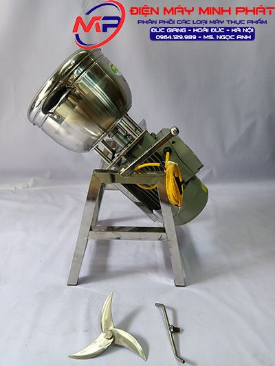 Máy xay đa năng 2KG 1.5KW nồi 28cm khung inox