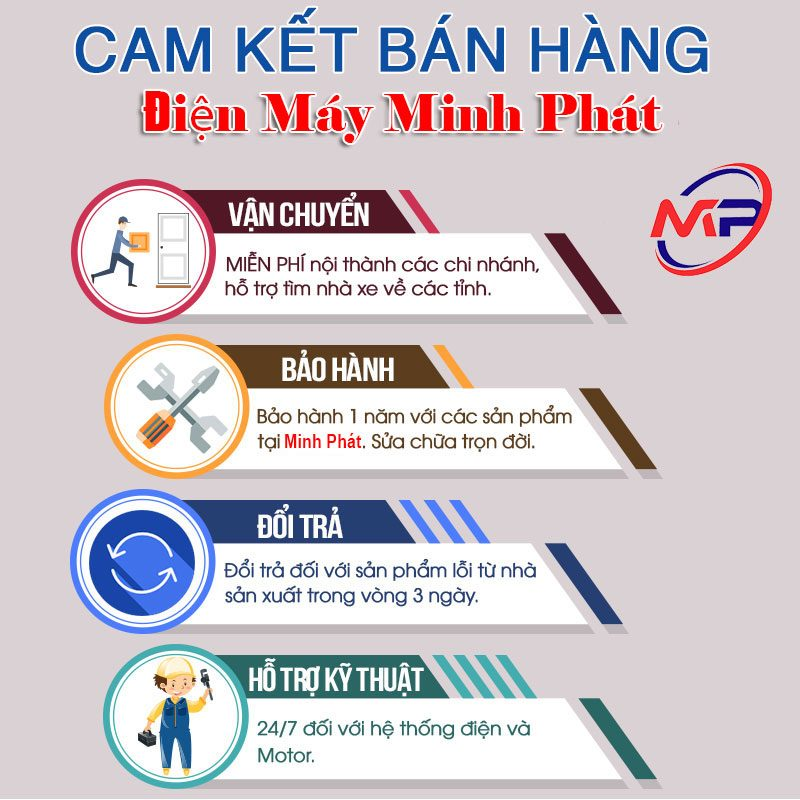 Cam Kết Bán Hàng Điện Máy Minh Phát
