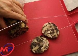 cách làm giò thủ chay từ nấm và kim chi