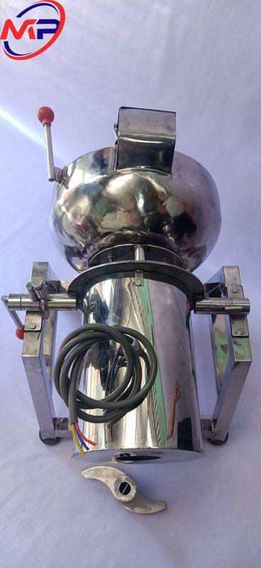 Máy xay giò chả 5KG 2.2kw 3 pha có bao đá khung A inox