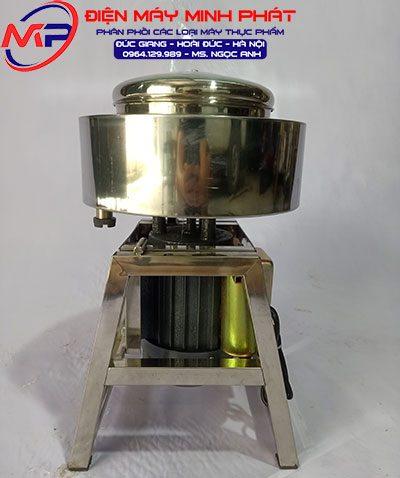 Máy xay giò chả Khung A Inox 1.1Kw - nồi 22cm - 1.5Kg/ lần có bao đá Điện 110V