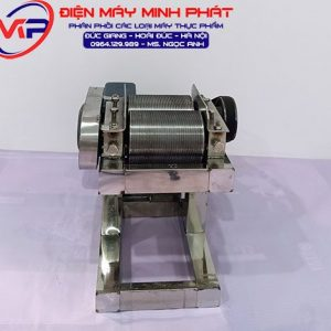 Máy thái bì heo motor inox thái dày 14mm