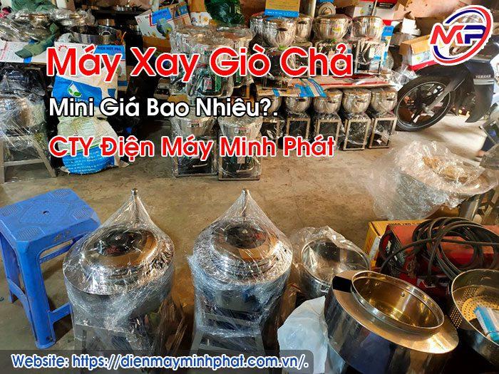 Máy Xay Giò Chả Mini Giá Bao Nhiêu