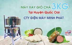 Máy Xay Giò Chả 3KG Tại Huyện Quốc Oai