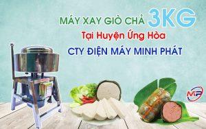 Máy Xay Giò Chả 3KG Tại Huyện Ứng Hòa